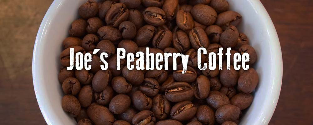 Joe's Peaberry Coffee